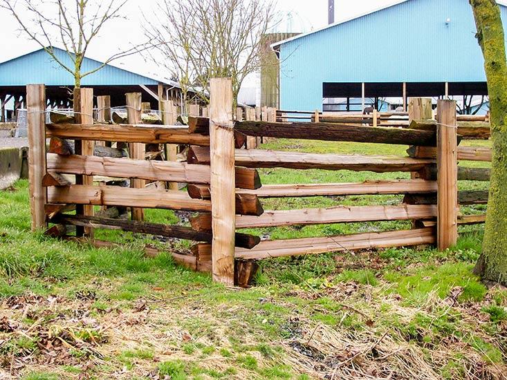 Split Cedar Fencing